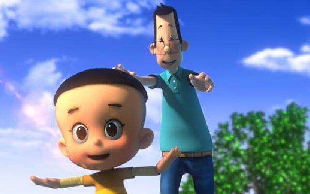 《新大头儿子和小头爸爸2》一日成才版预告片