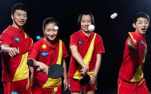乒乓球队的神吐槽 没想到你们是这样的胖球队!
