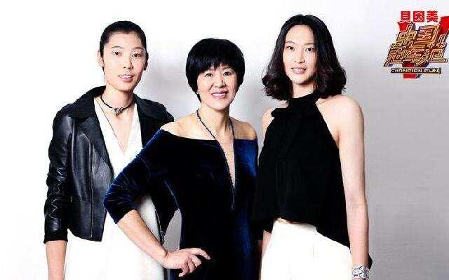 女排超模代表队来袭 郎平调侃爱将朱婷没...