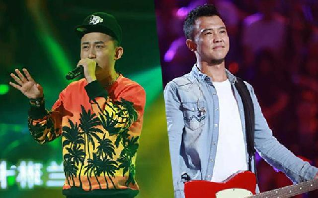 《中国新歌声》:吴江《在雨中》VS朴翔...