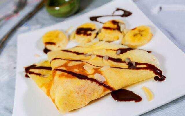 厨娘物语:甜蜜香蕉可丽饼