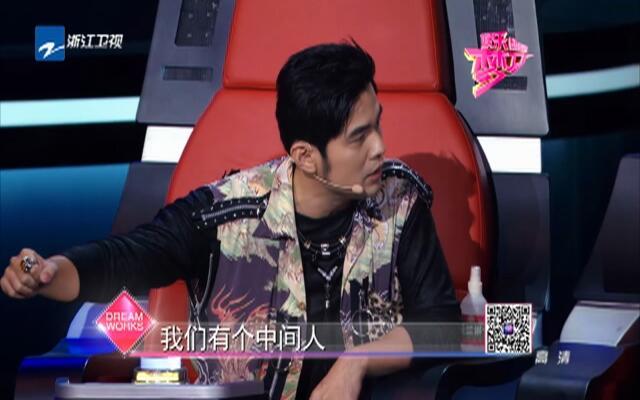 《中国新歌声》耿直女孩当众呛声周杰伦