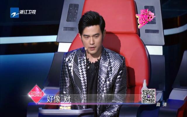 《中国新歌声》徐歌阳强压下完美演绎歌曲