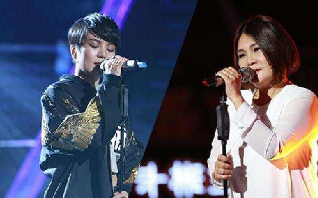 《中国新歌声》:官灵芝《给自己的歌》VS杨美娜《当》