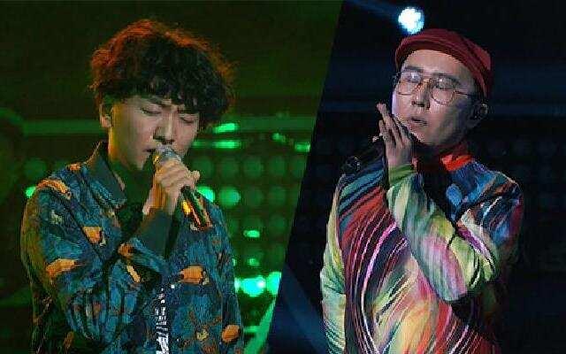 《中国新歌声》:吉克皓《旋木》VS阿克江《让我一次爱个够》