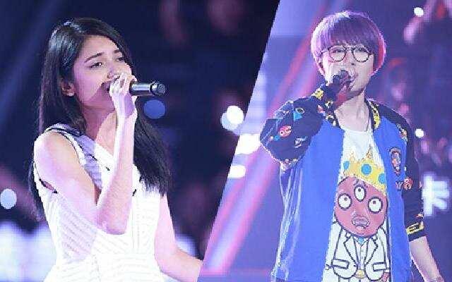《中国新歌声》:周旸《Racheal》VS李佩玲《不要对他说》