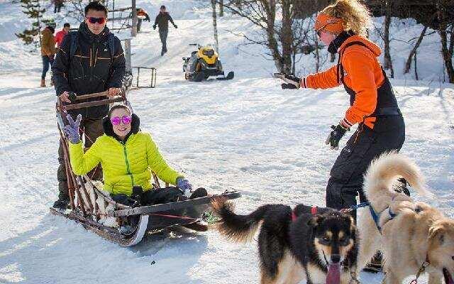 第三季《十二道锋味》体验芬兰独特交通工具 霆锋传授野外避险知识