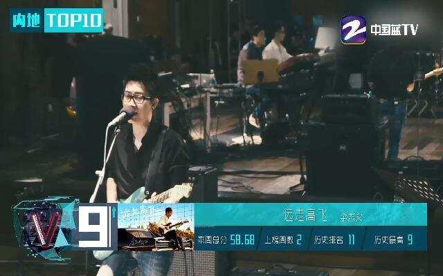 2017年音悦V榜 TOP10 第16期
