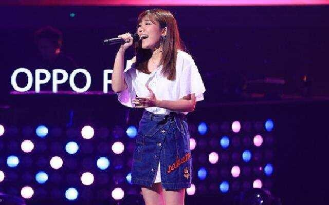 张珊珊《刚刚好》 浙江卫视中国新歌声第二季
