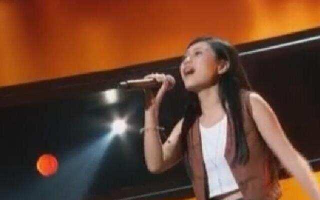 第二季《中国新歌声》:陈思镝《模范情书》 浙江卫视中国新歌声第二季