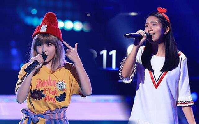 第二季《中国新歌声》谢慧娴《FLOW》VS陈颖恩《时间有泪》