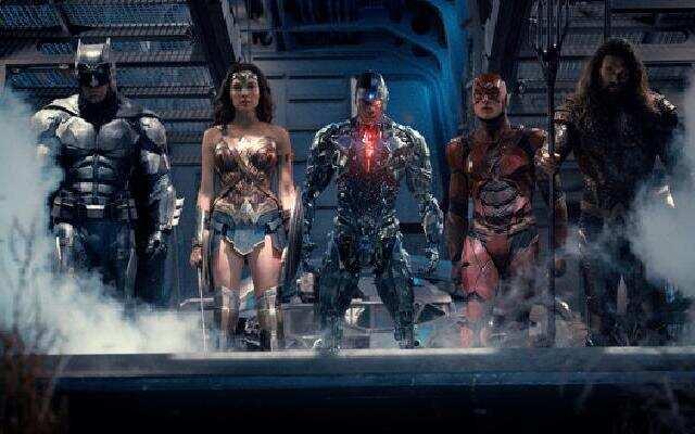 《正义联盟》超人复活!超级英雄组团惊艳亮相