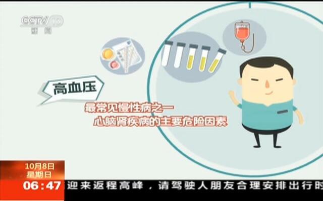 全国高血压日:控制血压  早知晓  早控制