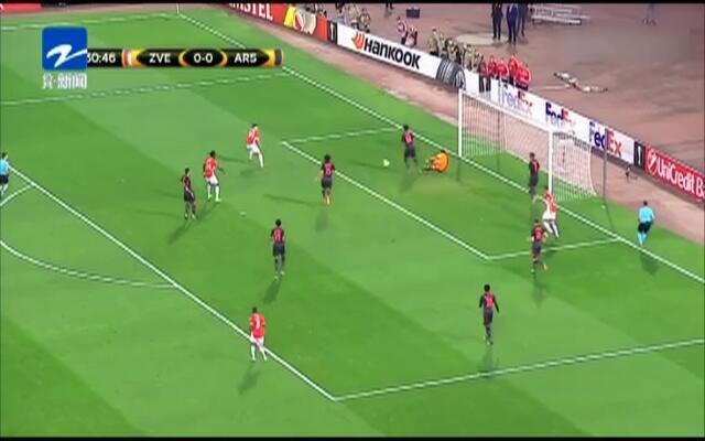 欧联杯:吉鲁精彩倒钩  阿森纳客场1-0小胜红星