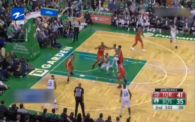 NBA:德罗赞绝杀不中  猛龙1分惜败凯尔特人