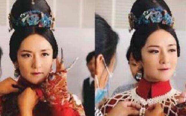 蓝朋友报到:谢娜cos甄嬛高贵妃华妃超像 白雪公主优雅动人
