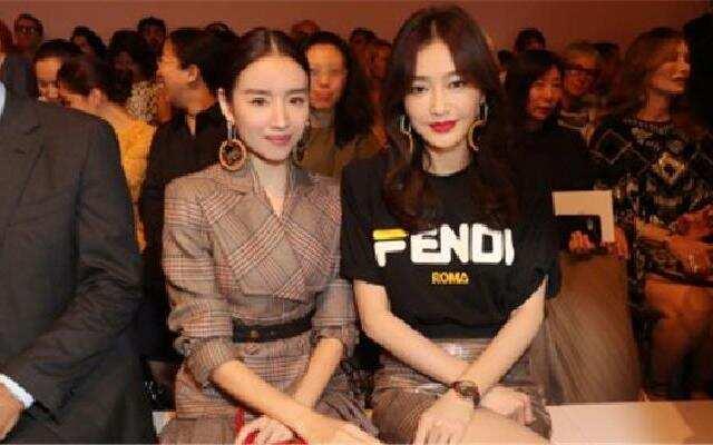 """""""富察皇后""""秦岚董洁同框"""
