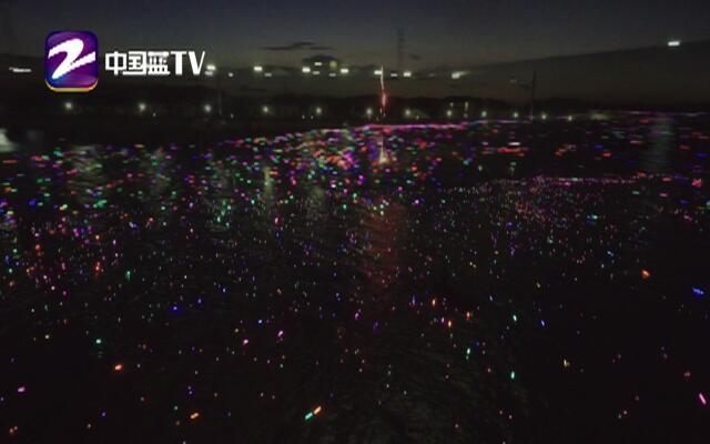 数千盏河灯