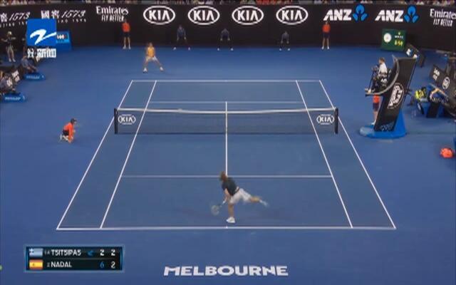 澳网:纳达尔送蛋横扫西西帕斯  六战不失一盘进军决赛