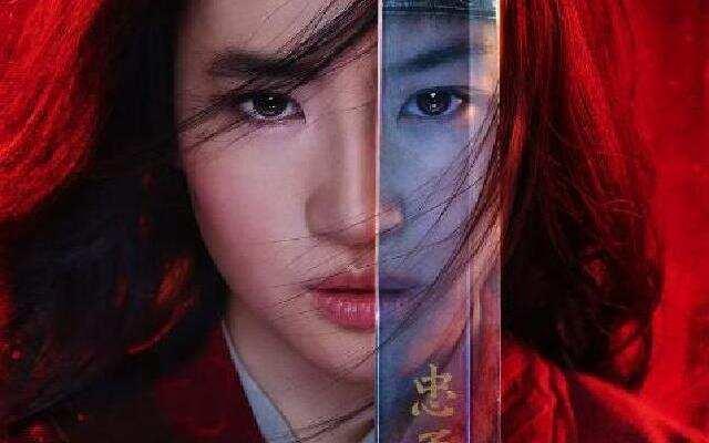 《花木兰》刘亦菲红衣上阵霸气杀敌
