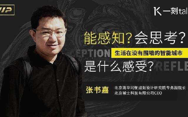 【一刻talks】张书嘉:没有好制度的保证 智能城市会变电子监狱?