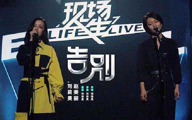 【现场人生Live纯享】刘莉旻赵美丽-《告别》