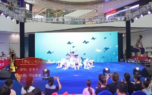 义乌赛区-三级一班《梦语心愿》-舞蹈-花蕾舞蹈