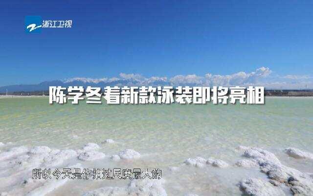 《各位游客请注意》:陈学冬的新款泳装即将亮相 到底有多震撼一起期待?