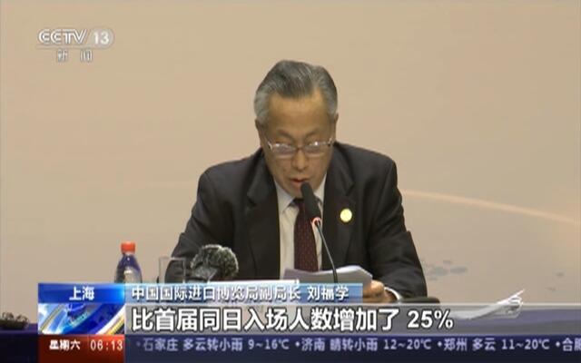 上海:第二届中国国际进口博览会——前三日单日客流量均高于首届