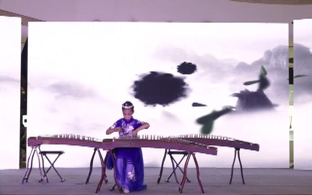 台州赛区-丰收锣鼓-古筝-悦音艺术培训中心
