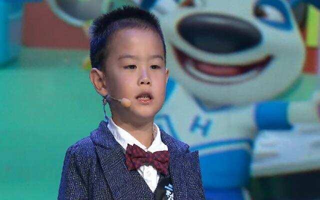 中国蓝少儿梦想家——胡麟翊