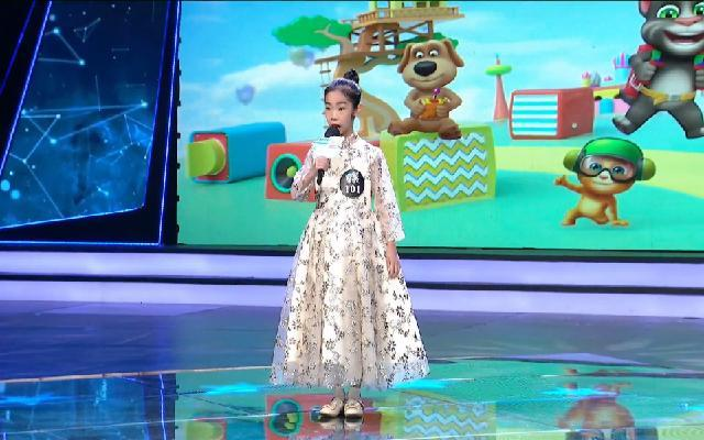 中国蓝少儿梦想家——张艺帆