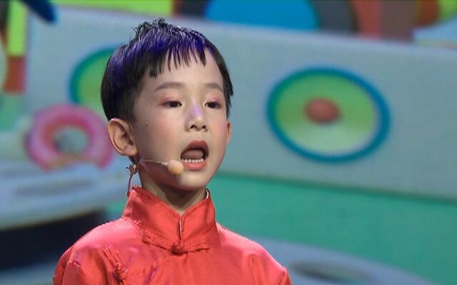 中国蓝少儿梦想家——毛昱博
