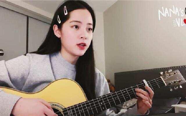 蓝朋友报到:欧阳娜娜弹唱网络热歌  陈学冬惊喜现身排行榜