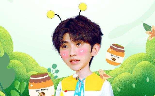 蔡徐坤波点造型童趣可爱